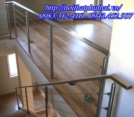 Cầu thang dây cáp inox PT1