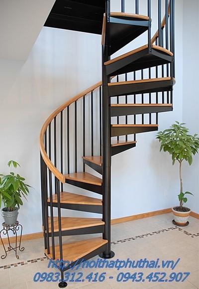 Cầu thang xoắn ốc PT2