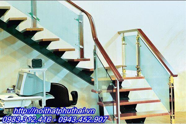 Cầu thang sắt xương cá PT10