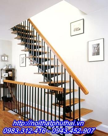 Cầu thang sắt xương cá PT9