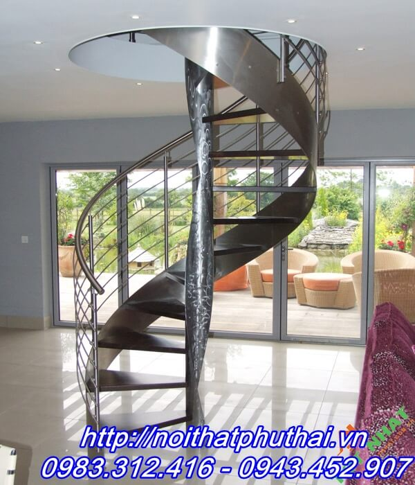 Cầu thang inox PT12