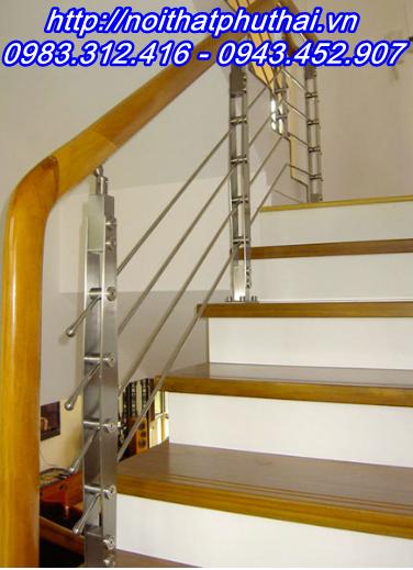 Chân trụ cầu thang inox PT3