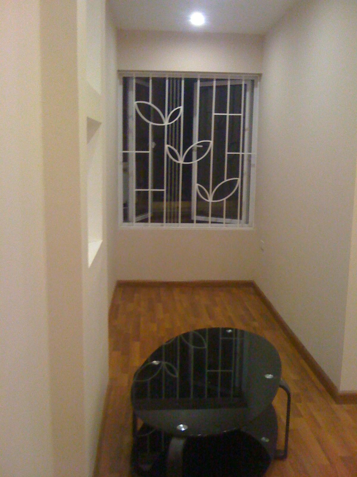 Công trình cầu thang, cửa sổ ngõ 72 nguyễn trãi