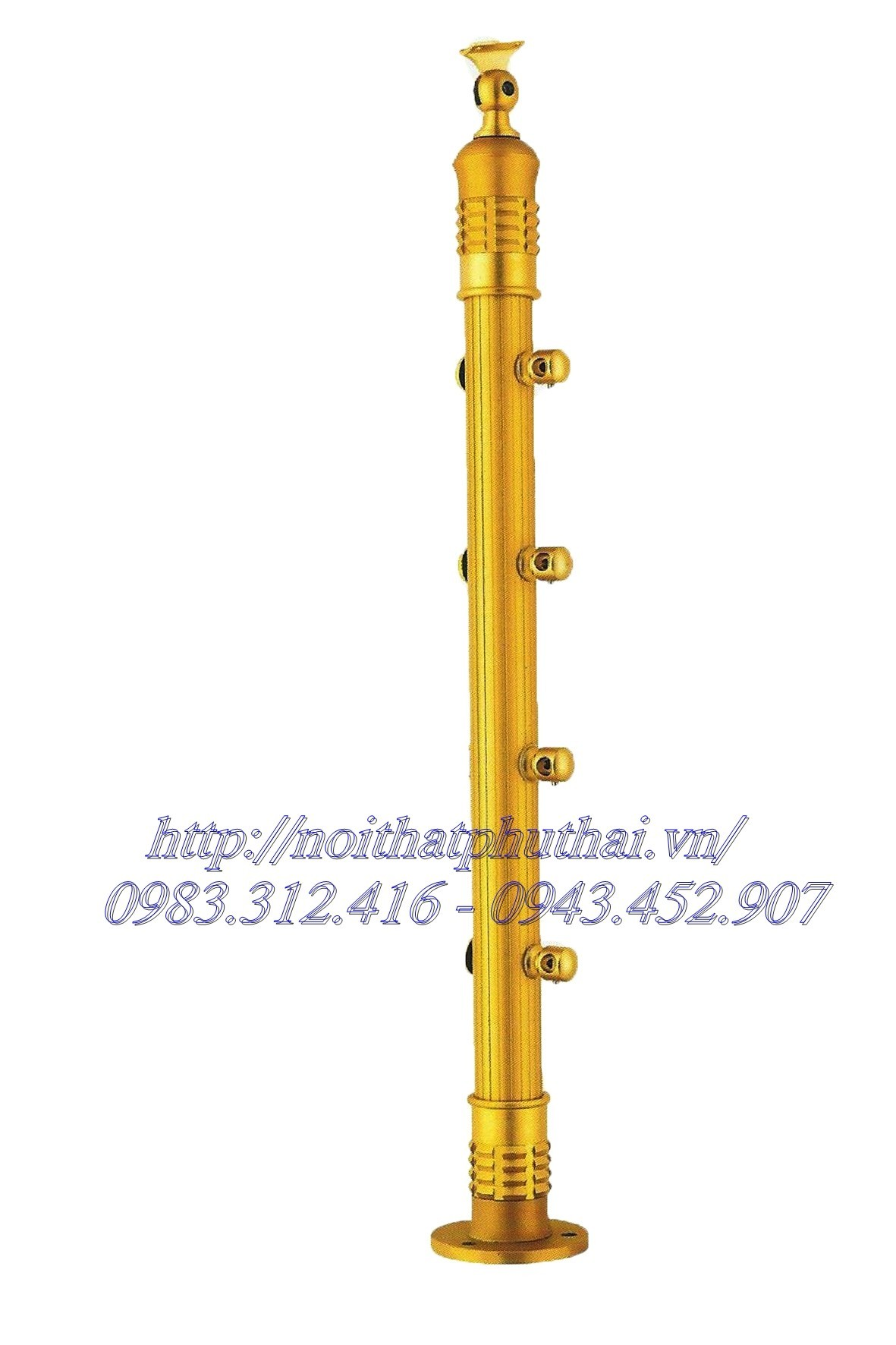 Chân cầu thang inox PT9