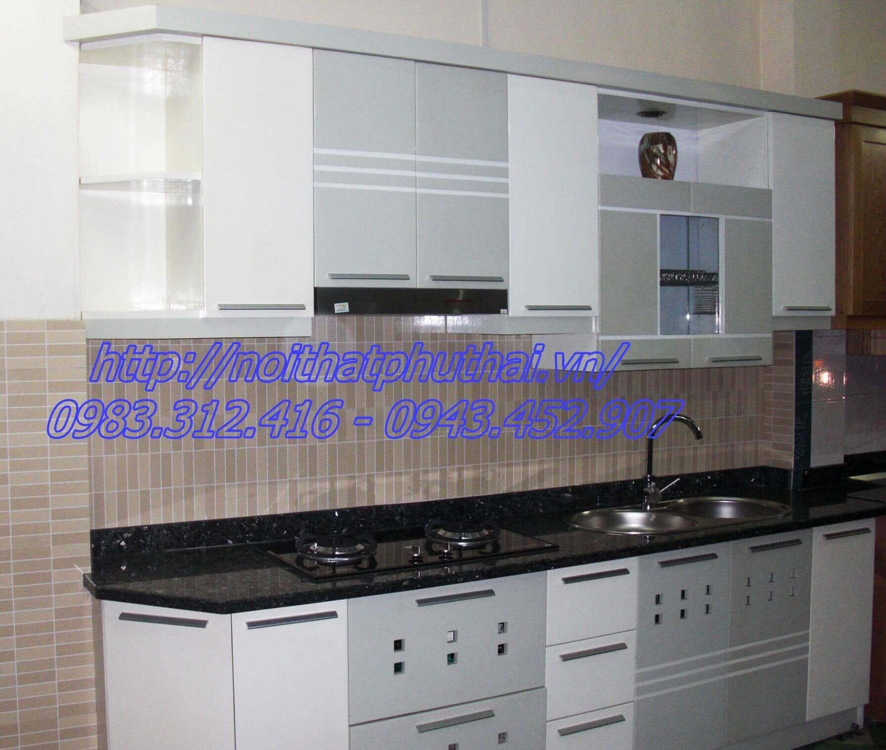 Tủ bếp gỗ công nghiệp PT5