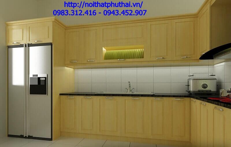 Tủ bếp gỗ công nghiệp PT8