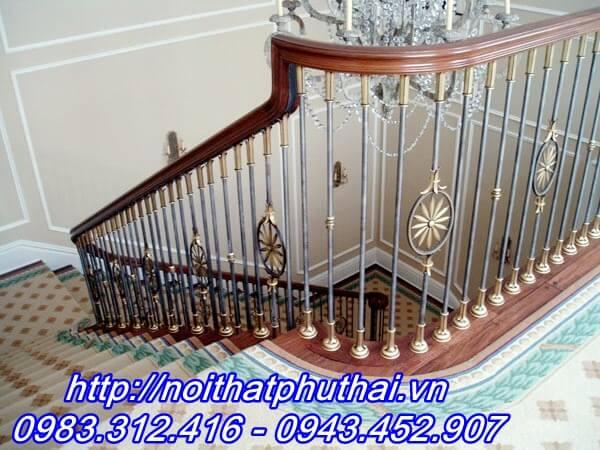 Cầu thang sắt nghệ thuật PT14