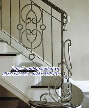 Cầu thang sắt nghệ thuật PT29