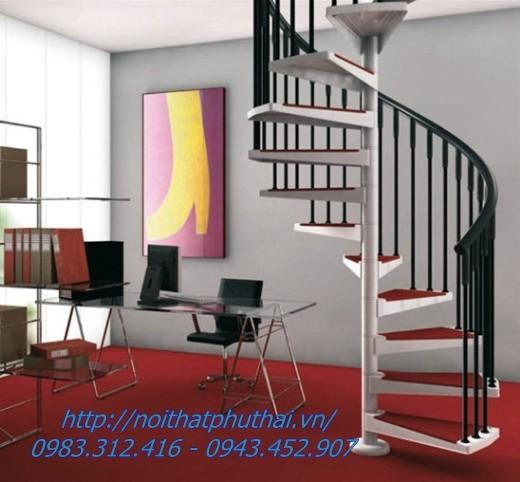 Thiết kế cầu thang xoắn ốc