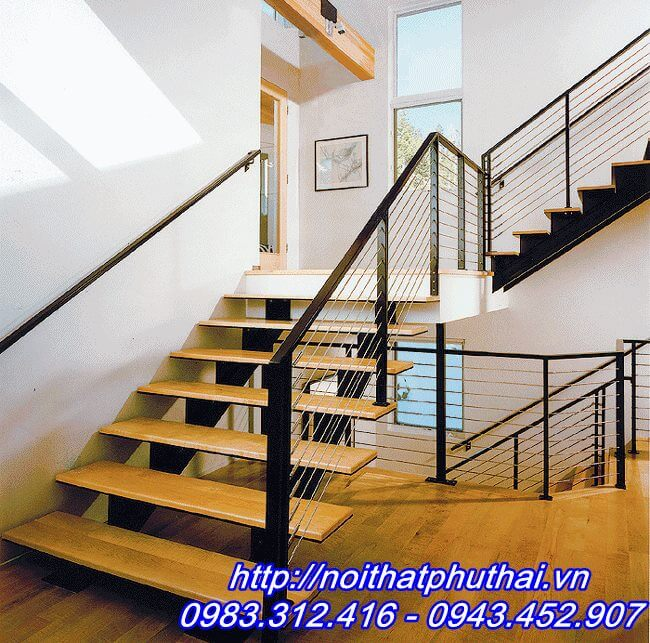 Cầu thang xương cá PT3