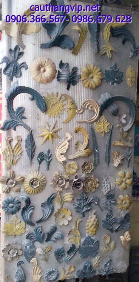 Hoa sắt nghệ thuật Phú Thái, phụ kiện sắt mỹ thuật
