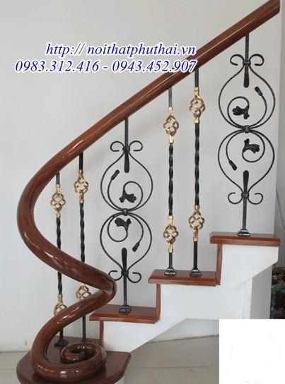 Cầu thang mỹ thuật cao cấp PT7