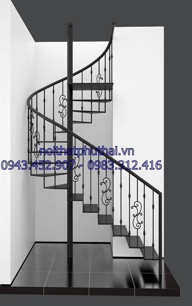 Cầu thang xoắn ốc PT10