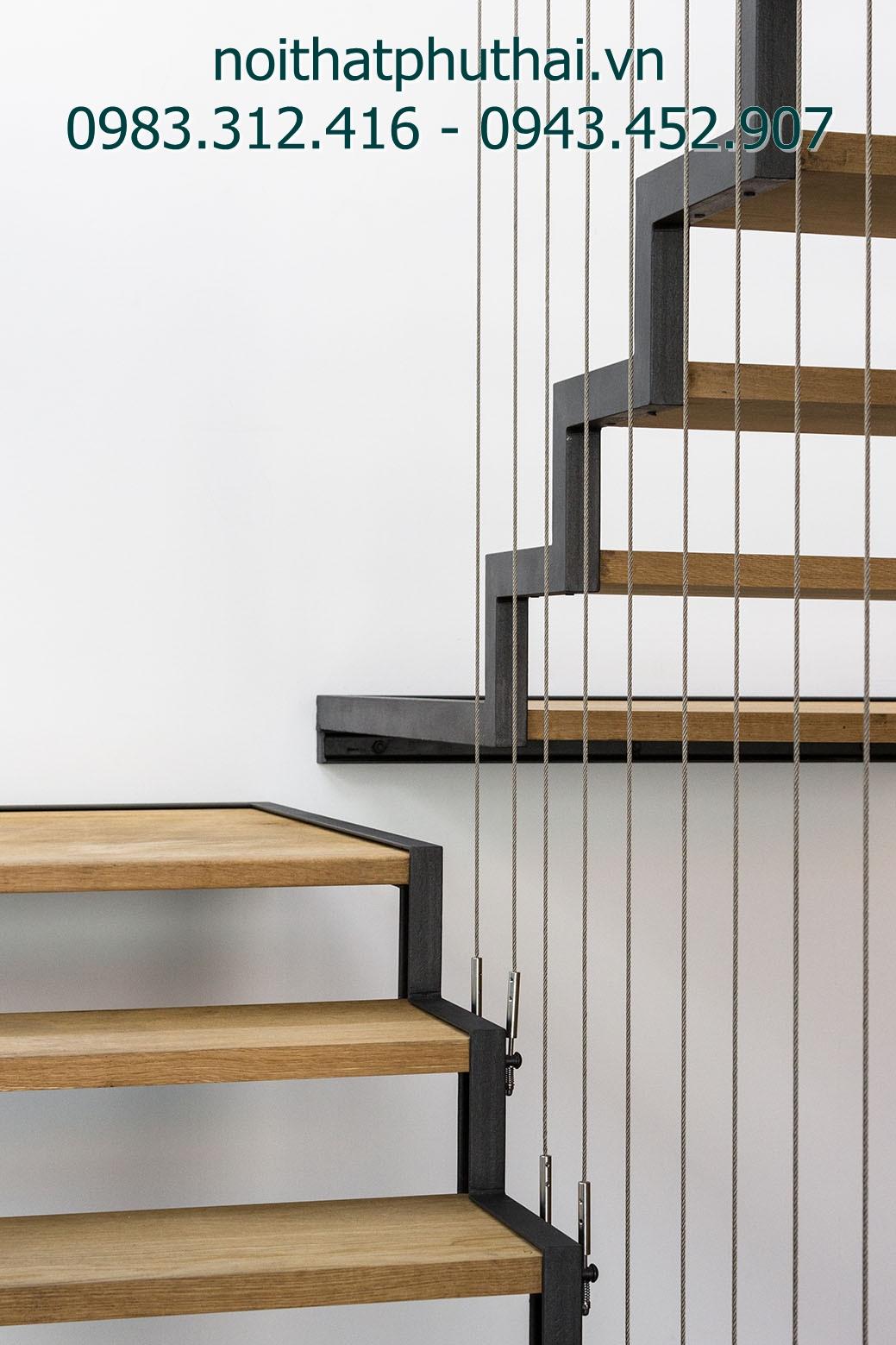 Cầu thang dây cáp PT14