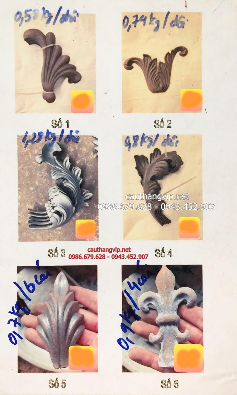 Catalogue hoa sắt mỹ thuật Hà Nội PT05
