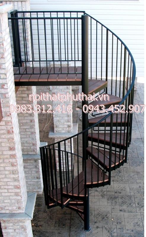 Cầu thang xoáy PT12