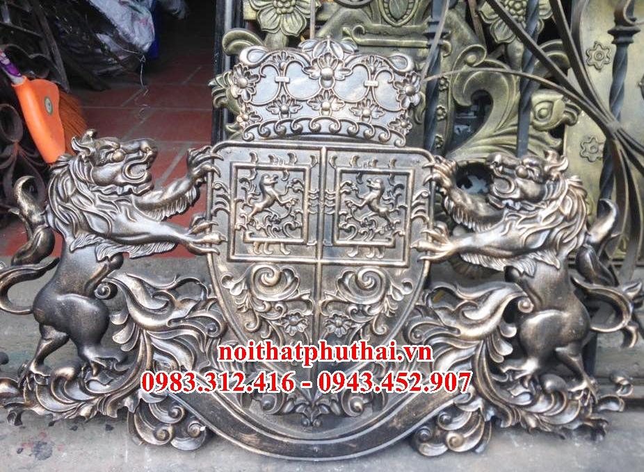 Hoa sắt mỹ thuật Hà Nội PT18 - Phụ kiện cửa cổng