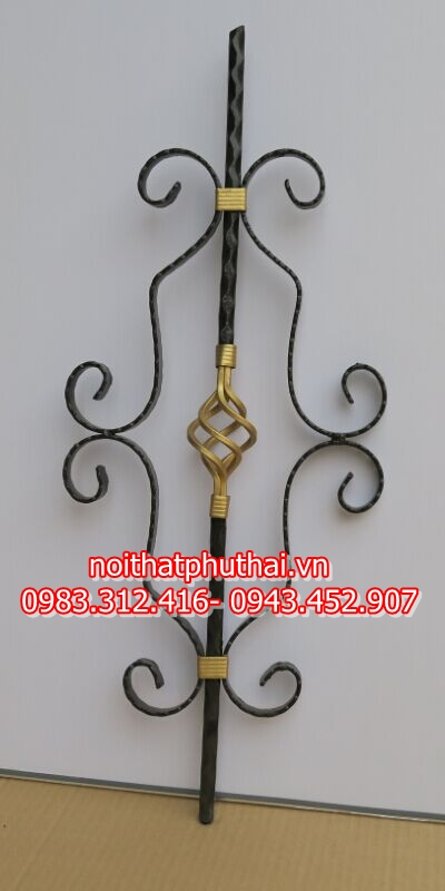 Hoa sắt nghệ thuật Hà Nội PT19