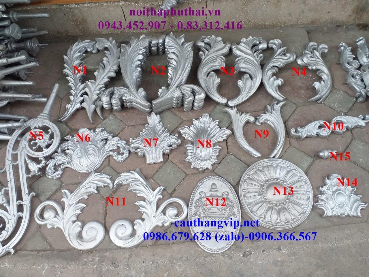 Hoa sắt mỹ thuật Hà Nội PT26