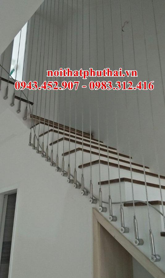 Cầu thang dâp cáp, tăng đơ ống PT17