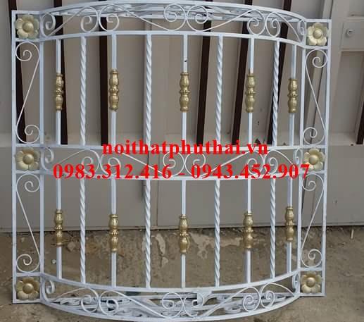 Cửa sổ sắt nghệ thuật PT21