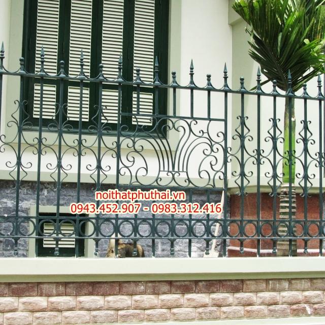 Hàng rào sắt mỹ thuật PT3
