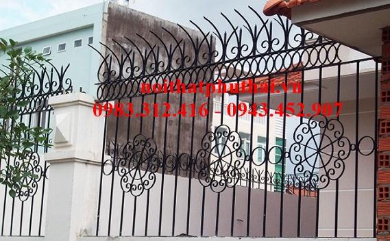 Hàng rào sắt mỹ thuật PT12