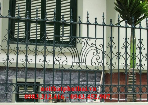 Hàng rào sắt mỹ thuật PT15