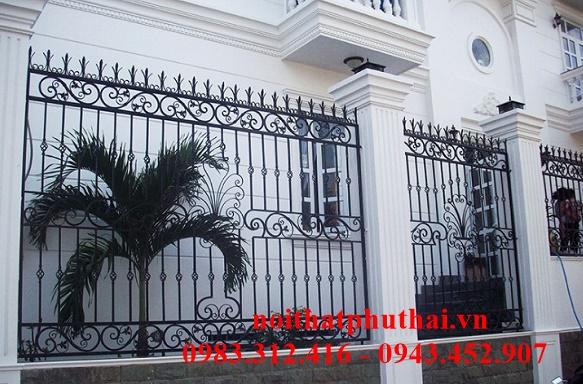 Hàng rào sắt mỹ thuật PT6